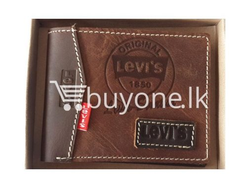 branded levis original model 2 buy one get one free brand new buyone lk in sri lanka 510x383 - Branded Levis Wallet High Quality Leather Design Model 2