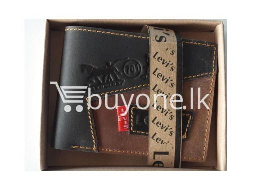 branded levis original model 3 buy one get one free brand new buyone lk in sri lanka 510x383 - Branded Levis Wallet High Quality Leather Design Model 3