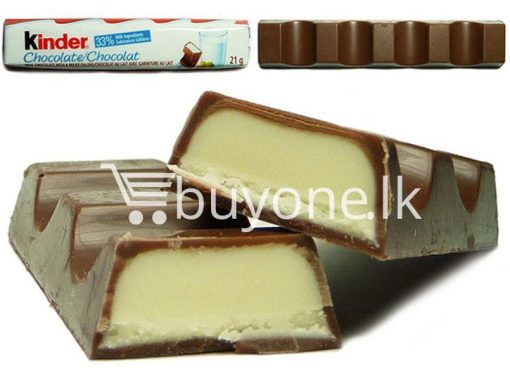 kinder chocolate 4 bars new food items sale offer in sri lanka buyone lk 4 510x383 - Kinder Chocolate 4 bars