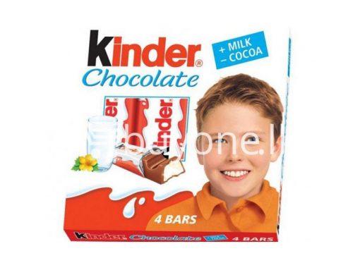 kinder chocolate 4 bars new food items sale offer in sri lanka buyone lk 510x383 - Kinder Chocolate 4 bars