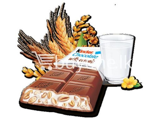 kinder chocolate with cereals new food items sale offer in sri lanka buyone lk 5 510x383 - Kinder Chocolate with Cereals