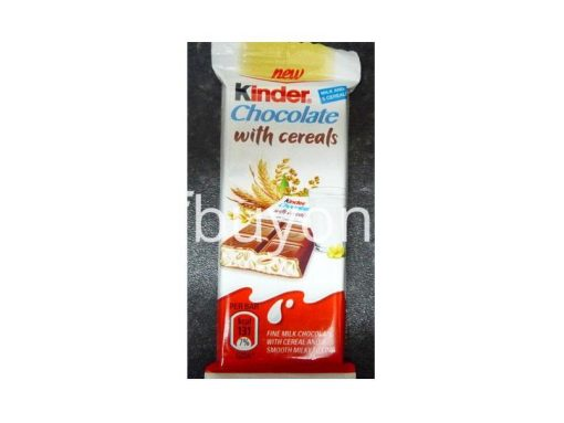 kinder chocolate with cereals new food items sale offer in sri lanka buyone lk 510x383 - Kinder Chocolate with Cereals