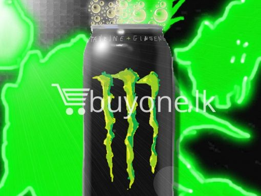monster green energy drink offer buyone lk for sale sri lanka 6 510x383 - Monster Green - Energy Drink
