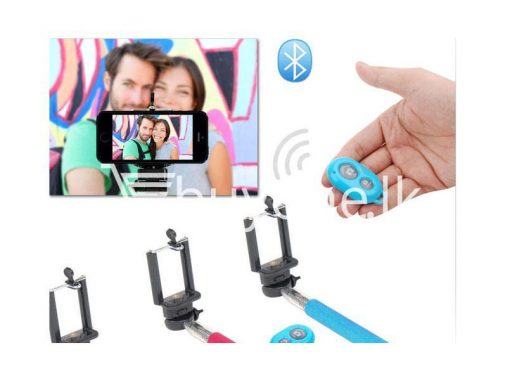 selfie stick monopod with free remote brand new buyone lk sri lanka valentines offer 510x383 - Monopod Selfie Stick with Free Selfie Remote Ver 2.3
