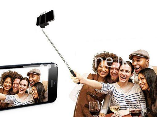new selfie stick monopod with clip self portrait ver 2 5 sri lanka brand new buyone lk send gift offers 2 510x383 - New Selfie Stick Monopod With Clip Self-Portrait Ver 2.5