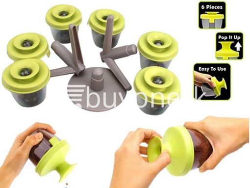 pop up standing spice rack 6 pieces fine life for sale sri lanka brand new buy one lk send gift offers 2 510x383 - Pop Up Standing Spice Rack (6 Pieces) Fine life