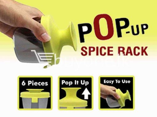 pop up standing spice rack 6 pieces fine life for sale sri lanka brand new buy one lk send gift offers 5 510x383 - Pop Up Standing Spice Rack (6 Pieces) Fine life
