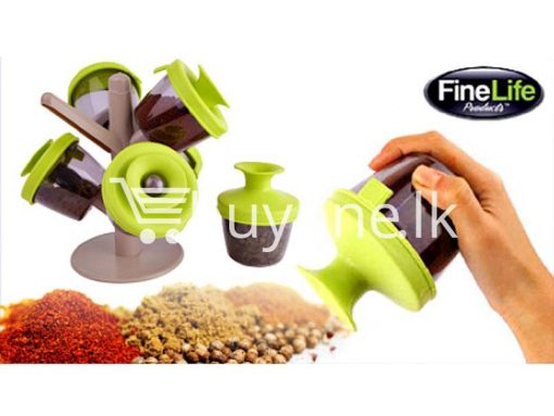 pop up standing spice rack 6 pieces fine life for sale sri lanka brand new buy one lk send gift offers 6 510x383 - Pop Up Standing Spice Rack (6 Pieces) Fine life