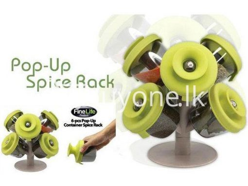 pop up standing spice rack 6 pieces fine life for sale sri lanka brand new buy one lk send gift offers 7 510x383 - Pop Up Standing Spice Rack (6 Pieces) Fine life