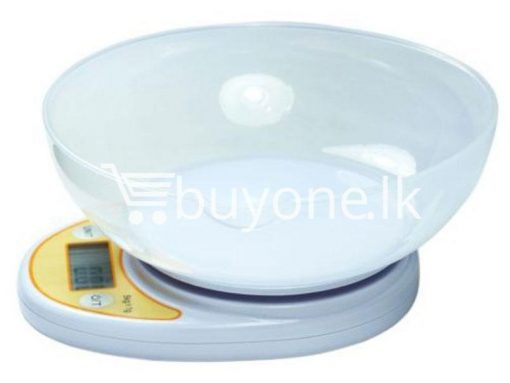 portable electronic kitchen scale lcd display digital with bowl for sale sri lanka brand new buyone lk send gift offers 2 510x383 - Portable Electronic Kitchen Scale LCD Display Digital with Bowl