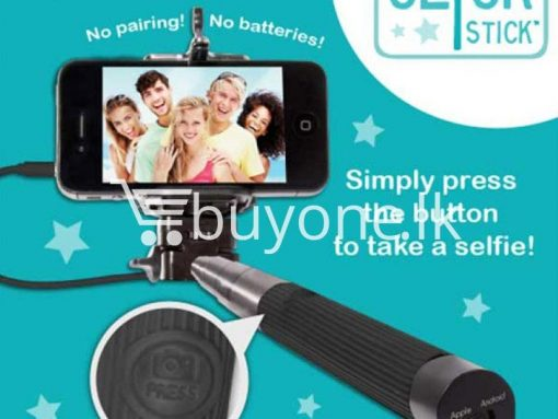 selfie stick with free built in selfie button sri lanka brand new buyone lk send gift offer 6 510x383 - Selfie Stick with Free Built in Selfie Button Version 2.0