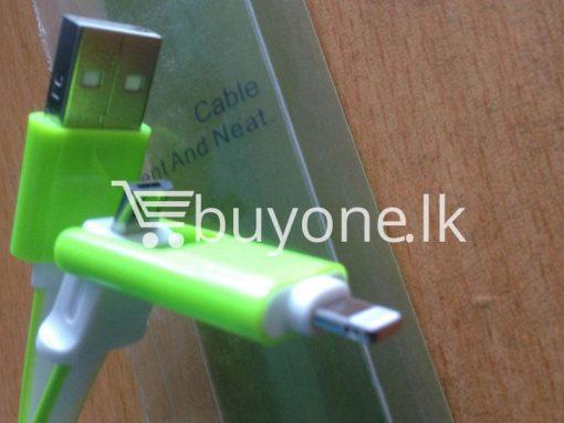 usb data transmission and charging cable mobile store mobile phone accessories brand new buyone lk avurudu sale offer sri lanka 2 510x383 - USB Data Transmission and Charging Cable