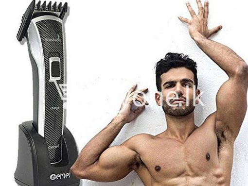 gemei gm656 washable rechargeable hair trimmer home appliances brand new buy one lk vesak sale offer sri lanka 2 510x383 - Gemei GM656 Washable + Rechargeable Hair Trimmer