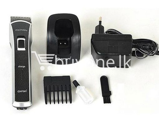 gemei gm656 washable rechargeable hair trimmer home appliances brand new buy one lk vesak sale offer sri lanka 5 510x383 - Gemei GM656 Washable + Rechargeable Hair Trimmer