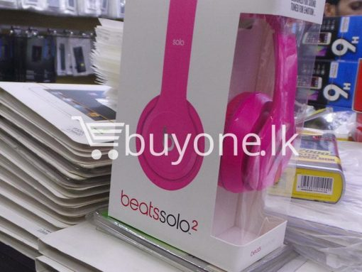 beats solo2 headphone with controltalk mobile phone accessories brand new sale gift offer sri lanka buyone lk 2 510x383 - Beats Solo2 Headphone with ControlTalk