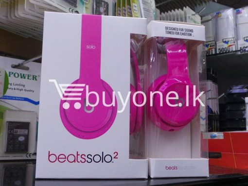 beats solo2 headphone with controltalk mobile phone accessories brand new sale gift offer sri lanka buyone lk 4 510x383 - Beats Solo2 Headphone with ControlTalk