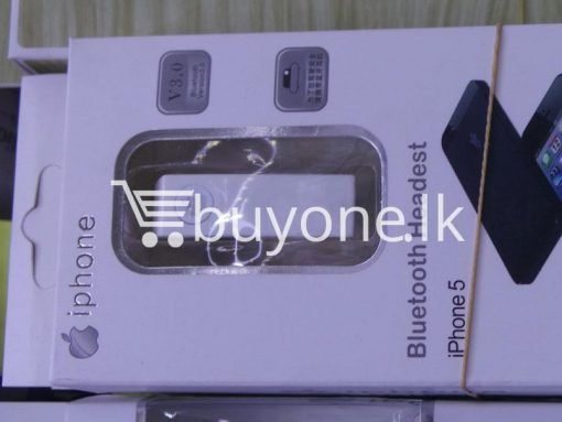bluetooth stylish headset for iphone mobile phone accessories brand new sale gift offer sri lanka buyone lk 3 510x383 - Bluetooth Stylish Headset For iPhone