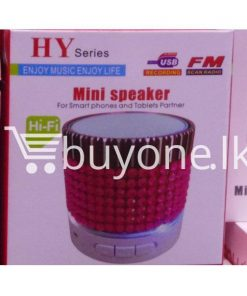 hy mini bluetooth speaker mobile phone accessories brand new sale gift offer sri lanka buyone lk  247x296 - HY Mini Bluetooth Speaker