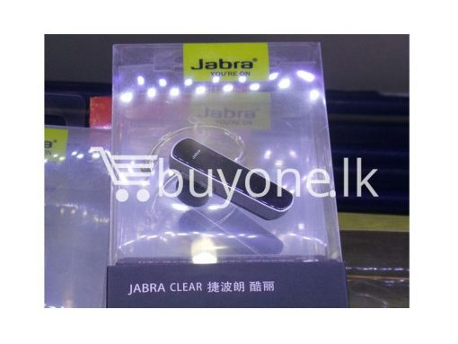 jabra clear bluetooth headset mobile phone accessories brand new sale gift offer sri lanka buyone lk 510x383 - Jabra Clear Bluetooth Headset