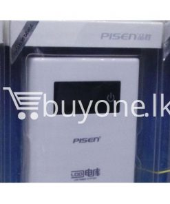 original pisen 7500mah digital lcd power bank mobile phone accessories brand new sale gift offer sri lanka buyone lk 247x296 - Original Pisen 7500mAh Digital LCD Mobile Power Bank