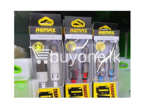 original remax data transfer cable 1000mm mobile phone accessories brand new sale gift offer sri lanka buyone lk 510x383 - Remax Data Transfer Cable 1000mm - 2in1