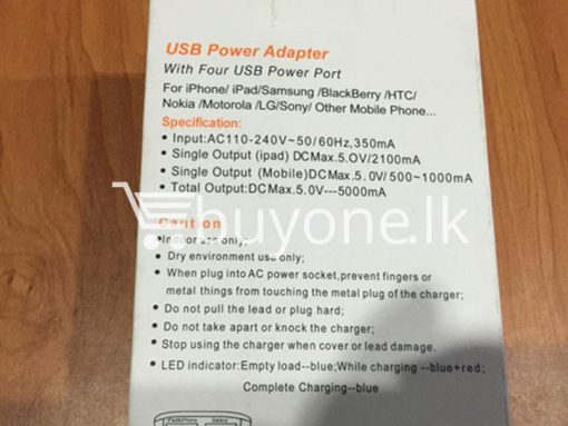 4in1 port usb chaging power adapter wall socket best deals gift christmas offers buy one sri lanka 4 510x383 - 4in1 Port USB Charging Power Adapter + Wall Socket