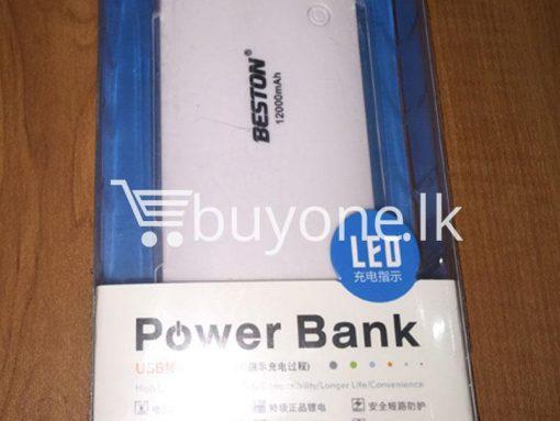 Original Beston Power Bank 12000 mah 3 charging socket port with LED Torch 3 510x383 - Original Beston Power Bank 12000 mAh 3 charging socket port with LED Torch