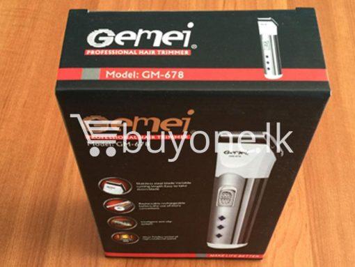 gemei professional hair trimmer make life better gm 678 best deals send gifts christmas offers buy one sri lanka 6 510x383 - Gemei Professional Hair Trimmer Make Life Better GM-678
