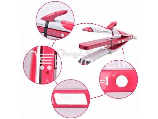 nova 3 in 1 hair professional straightener fast bun hair curler care dryer roller tourmaline ceramic send gift christmas seasonal offer sri lanka buyone lk 3 510x383 - Nova 3 in 1 Hair Professional Straightener Fast Bun Hair Curler Care Dryer Roller Tourmaline Ceramic Set