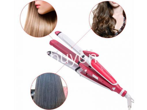 nova 3 in 1 hair professional straightener fast bun hair curler care dryer roller tourmaline ceramic send gift christmas seasonal offer sri lanka buyone lk 5 510x383 - Nova 3 in 1 Hair Professional Straightener Fast Bun Hair Curler Care Dryer Roller Tourmaline Ceramic Set