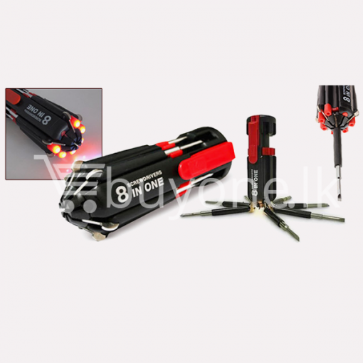 8 in 1 multi screwdriver with torch household appliances special offer best deals buy one lk sri lanka 1453797103 510x510 - 8 In 1 Multi Screwdriver With Torch