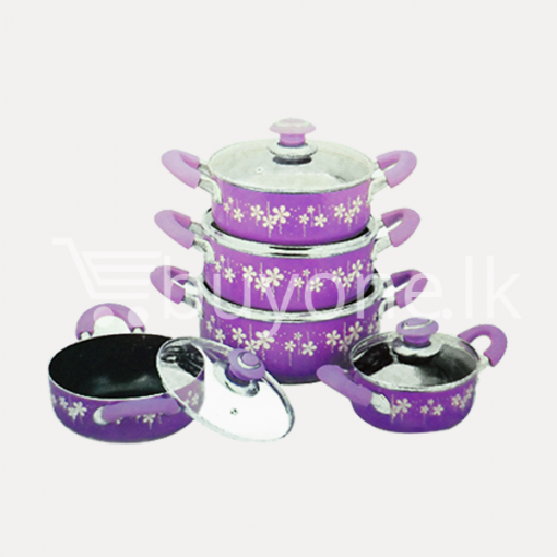 amilex nonstick casserole set 10 pieces home and kitchen special offer best deals buy one lk sri lanka 1453800432 510x510 - Amilex Nonstick Casserole Set (10 Pieces)