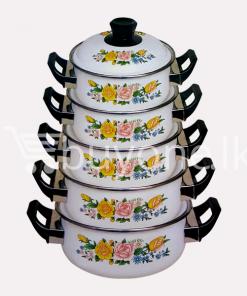 hachi 10pcs enamel ware set home and kitchen special offer best deals buy one lk sri lanka 1453801496 247x296 - Hachi 10Pcs Enamel Ware Set