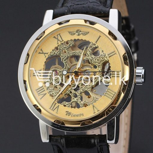 2016 winner luxury stainless steel wind watch for men automatic replica men watches special best offer buy one lk sri lanka 13045 1 510x510 - 2016 Winner Luxury Stainless Steel Wind Watch For Men Automatic Replica