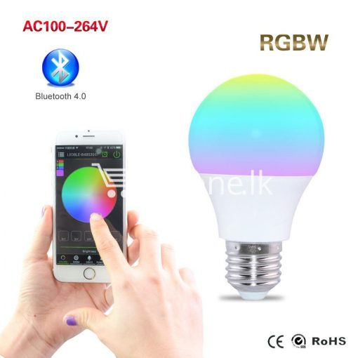 bluetooth smart led bulb for home hotel with warranty home and kitchen special best offer buy one lk sri lanka 73857 510x510 - Bluetooth Smart LED Bulb For Home Hotel with Warranty
