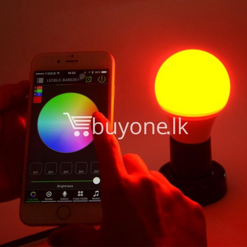 bluetooth smart led bulb for home hotel with warranty home and kitchen special best offer buy one lk sri lanka 73859 510x510 - Bluetooth Smart LED Bulb For Home Hotel with Warranty