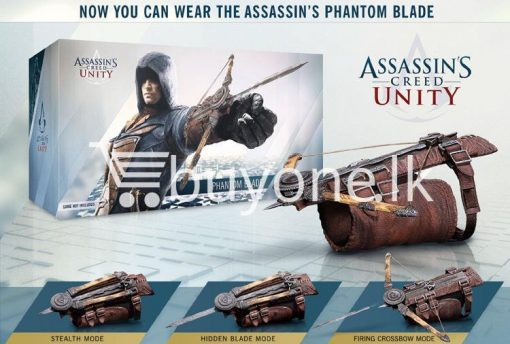 brand new assassins creed 5 unity hidden blade edward action figure baby care toys special best offer buy one lk sri lanka 11822 510x344 - Brand New Assassins Creed 5 Unity Hidden Blade Edward Action Figure