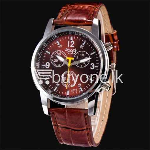 luxury crocodile faux leather mens analog watch men watches special best offer buy one lk sri lanka 10532 510x510 - Luxury Crocodile Faux Leather Mens Analog Watch