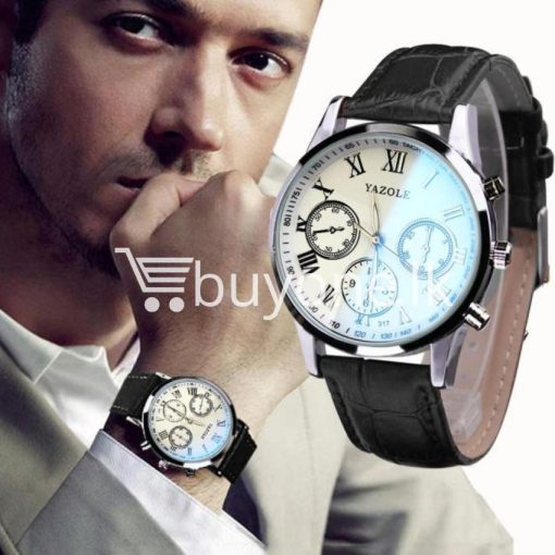 luxury fashion mens blue ray glass quartz analog watch men watches special best offer buy one lk sri lanka 10948 510x510 - Luxury Fashion Mens Blue Ray Glass Quartz Analog Watch