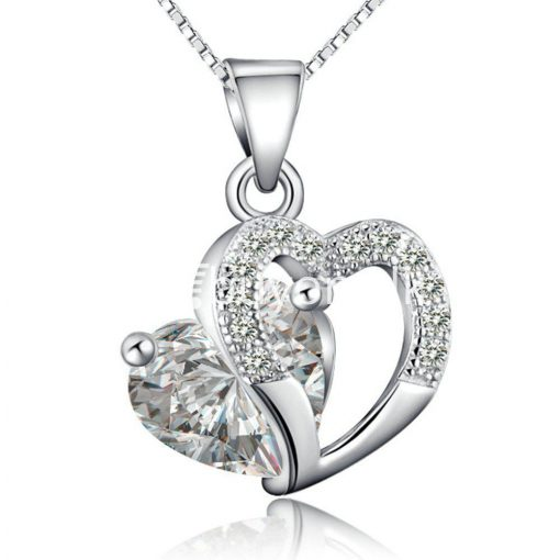 new crystal pendant necklaces heart chain valentine gifts jewelry store special best offer buy one lk sri lanka 11940 1 510x510 - New Crystal Pendant Necklaces Heart Chain Valentine Gifts