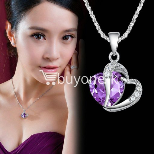 new crystal pendant necklaces heart chain valentine gifts jewelry store special best offer buy one lk sri lanka 11942 1 510x510 - New Crystal Pendant Necklaces Heart Chain Valentine Gifts