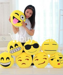 soft emotional smiley yellow round cushion pillow home and kitchen special best offer buy one lk sri lanka 10743 247x296 - Soft Emotional Smiley Yellow Round Cushion Pillow