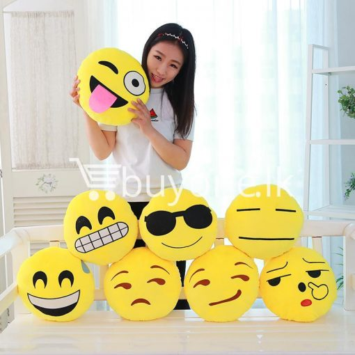 soft emotional smiley yellow round cushion pillow home and kitchen special best offer buy one lk sri lanka 10743 510x510 - Soft Emotional Smiley Yellow Round Cushion Pillow