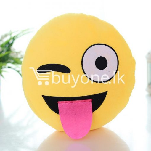 soft emotional smiley yellow round cushion pillow home and kitchen special best offer buy one lk sri lanka 10744 510x510 - Soft Emotional Smiley Yellow Round Cushion Pillow