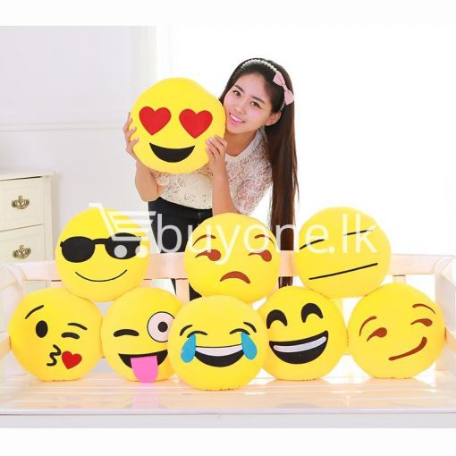 soft emotional smiley yellow round cushion pillow home and kitchen special best offer buy one lk sri lanka 10745 510x510 - Soft Emotional Smiley Yellow Round Cushion Pillow