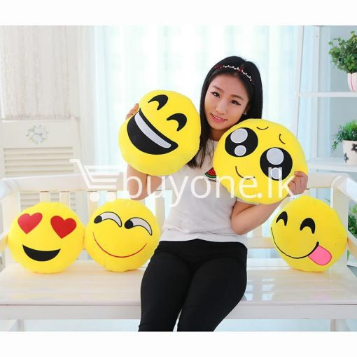 soft emotional smiley yellow round cushion pillow home and kitchen special best offer buy one lk sri lanka 10746 510x510 - Soft Emotional Smiley Yellow Round Cushion Pillow