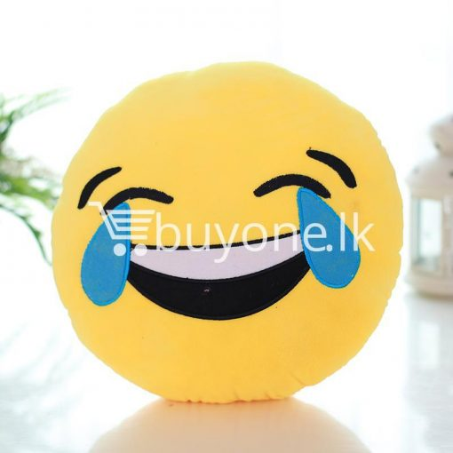 soft emotional smiley yellow round cushion pillow home and kitchen special best offer buy one lk sri lanka 10747 510x510 - Soft Emotional Smiley Yellow Round Cushion Pillow