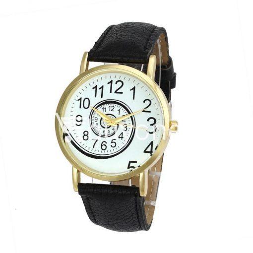 spiral design pattern quartz wrist watch watch store special best offer buy one lk sri lanka 09052 510x510 - Spiral Design Pattern Quartz Wrist Watch
