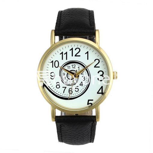 spiral design pattern quartz wrist watch watch store special best offer buy one lk sri lanka 09053 510x510 - Spiral Design Pattern Quartz Wrist Watch