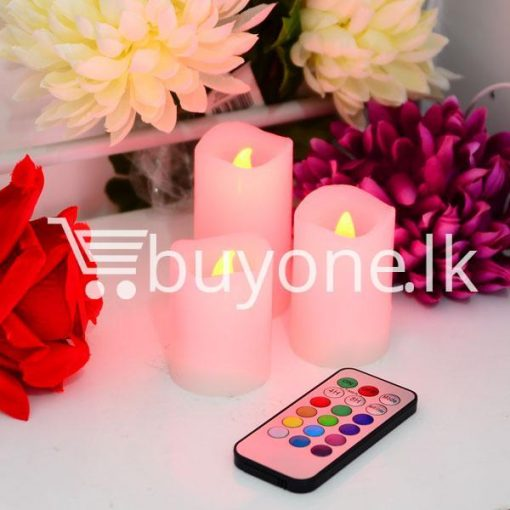 wireless romantic luma color changing candles for party birthday christmas valentine home and kitchen special best offer buy one lk sri lanka 42165 1 510x510 - Wireless Romantic Luma Color Changing Candles For Party, Birthday, Christmas, Valentine
